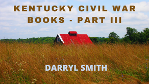 Kentucky Civil War Books - Part III