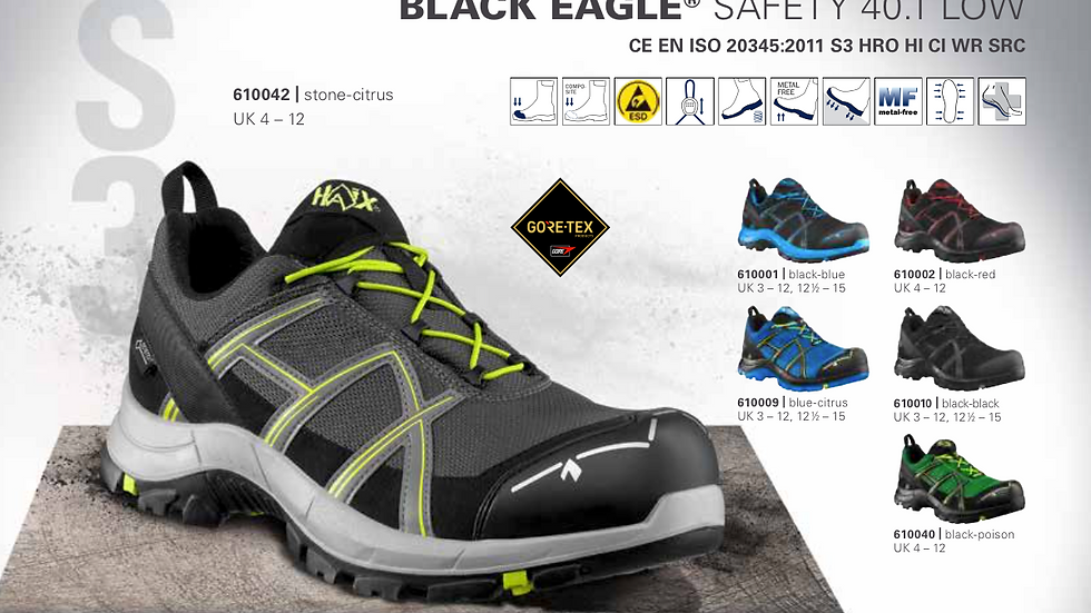 HAIX BLACK EAGLE Safety 40.1 low