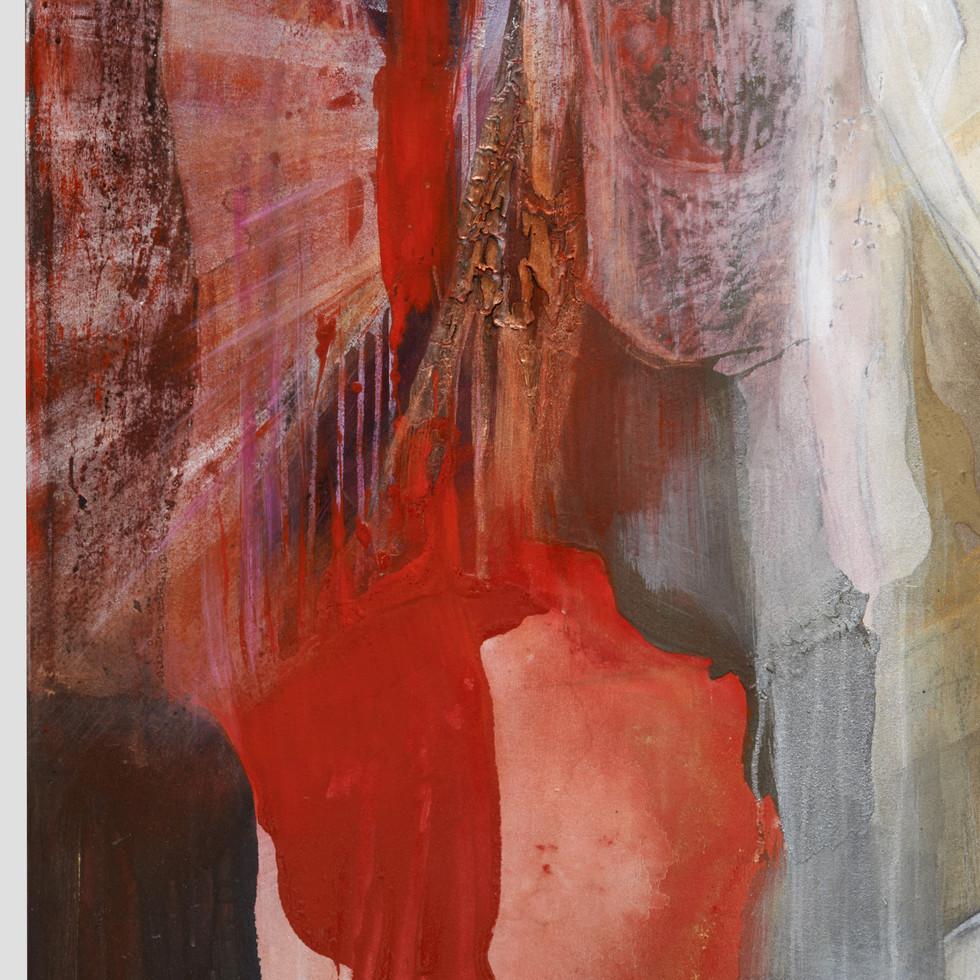 yksityiskohta maalauksesta Birgitta