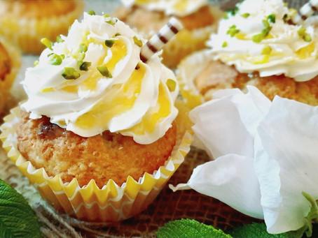 Karibik-Cupcakes mit Lemon Curd Swirl 🍋🥥
