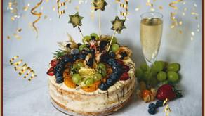 Happy New Year! Die Silvestertorte 🥂🍾