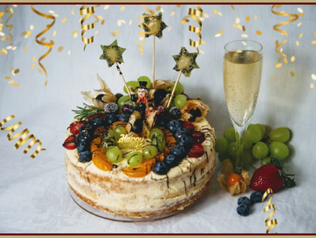 Happy New Year! Die Silvestertorte 🥂🍾
