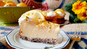 Low Carb Zitronen-Cheesecake 🍋