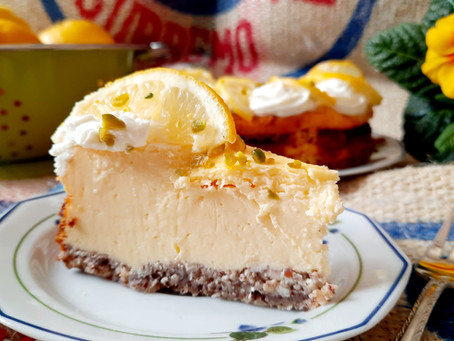Low Carb Zitronen-Cheesecake 🍋