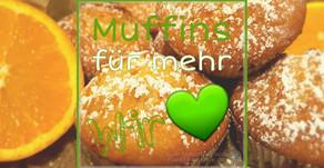 """""""Muffins für mehr Wir"""": Saftige Orangenmuffins🍊💚"""