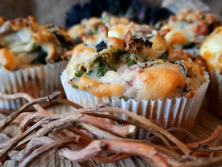 Grünkohl-Muffins und Biikebrennen