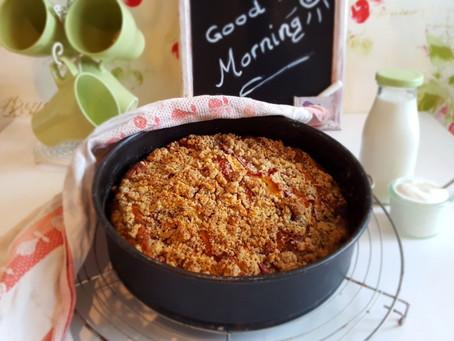 Süß und lecker in den Tag - oder: ...Kuchen zum Frühstück? 🥛