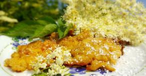 Blütenzauber aus der Pfanne: Ausgebackene Holunderblüten 🌸🌞