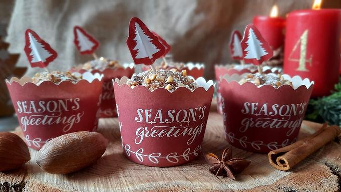 Kleines Give-Away: Lebkuchenmuffins 🎄❤