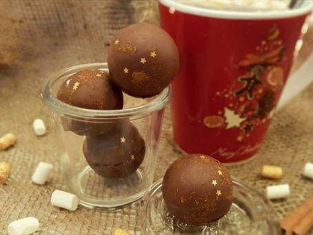 2. Advent: Echt trendy - Hot Chocolate Bomben🎅🍫