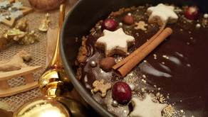 4. Advent: Festliche Schokoladen-Tarte 🍫⭐🎄