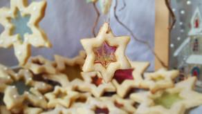 Buntglas-Cookies 🍬🌟❄