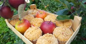 ApfelköstlichZeiten: Apfel-Wein-Muffins mit Zimtstreuseln 🍎🍷