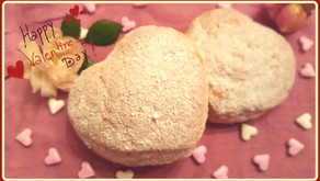 Low Carb - Liebesgrüße aus dem Backofen: Gefüllte Erdbeer-Mandel-Cookies mit Vanille 💕