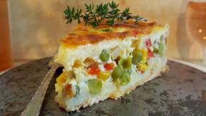 Gemüse-Quiche mit Joghurt 🌽🌶