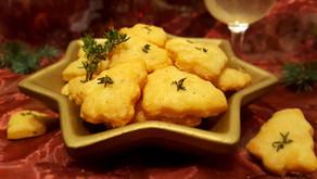 Pikante Weihnachten: Thymian-Käse-Bäumchen🎄