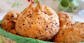 Lecker wie vom Bäcker: Knusprige, kernige Leinsamenbrötchen (vegan)🥖🥐