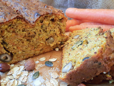 Low Carb: Saftiges Karotten-Nuss-Brot 🥕🌰