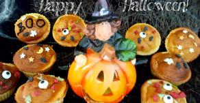 Halloween ist nah: Kürbis-Käsekuchen-Muffins 🎃👻🦇