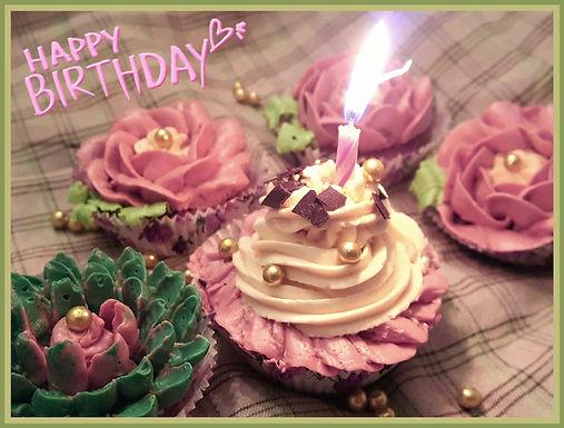 Swiss Buttercreme: Geburtstags-Cupcakes für alle! 🤗Happy Birthday, Küstencookie!🎂