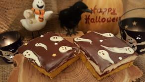 Gespenster-Kürbis-Schnitten zu Halloween 👻🎃