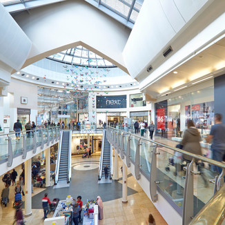 Access Intu shopping centre in minutes