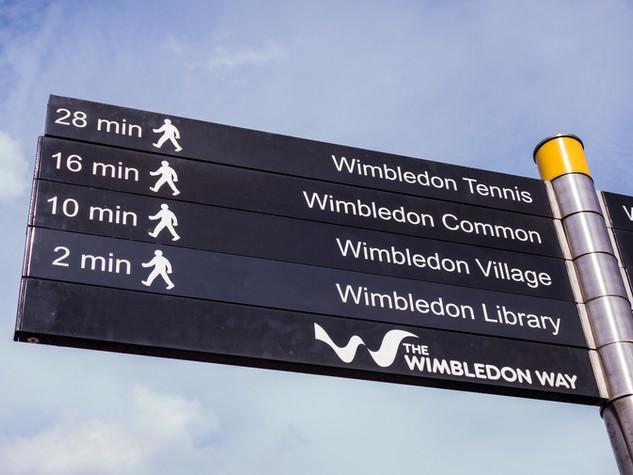 Wimbledon Sign