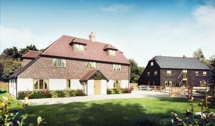 Traditional new homes