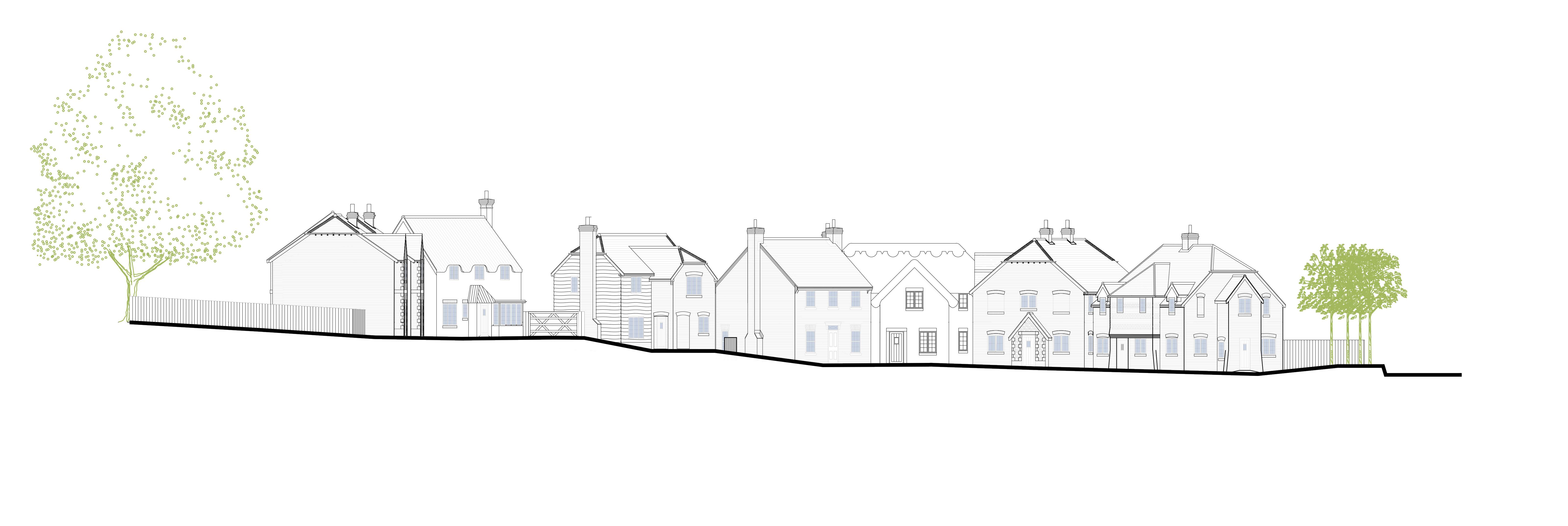 Hurstbourne Priors Elevations