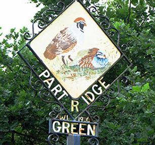 partridge green village sign-crop-u12191