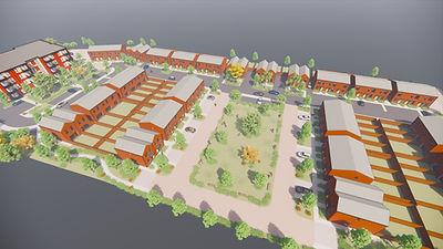 View 06 - Birdseye view of Central Green