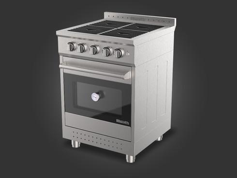 Cocina a gas estilo profesional