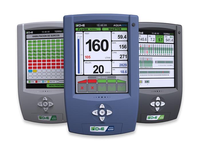 Monitor de siembra de precisión