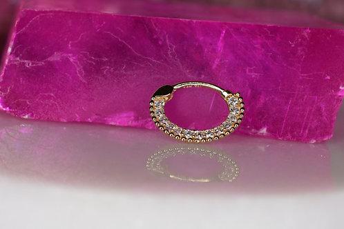 Pave Gem Daith ring