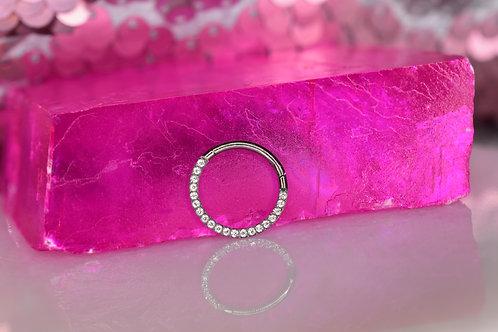 CZ Hinge ring
