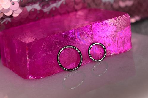 Highly polished hinge ring