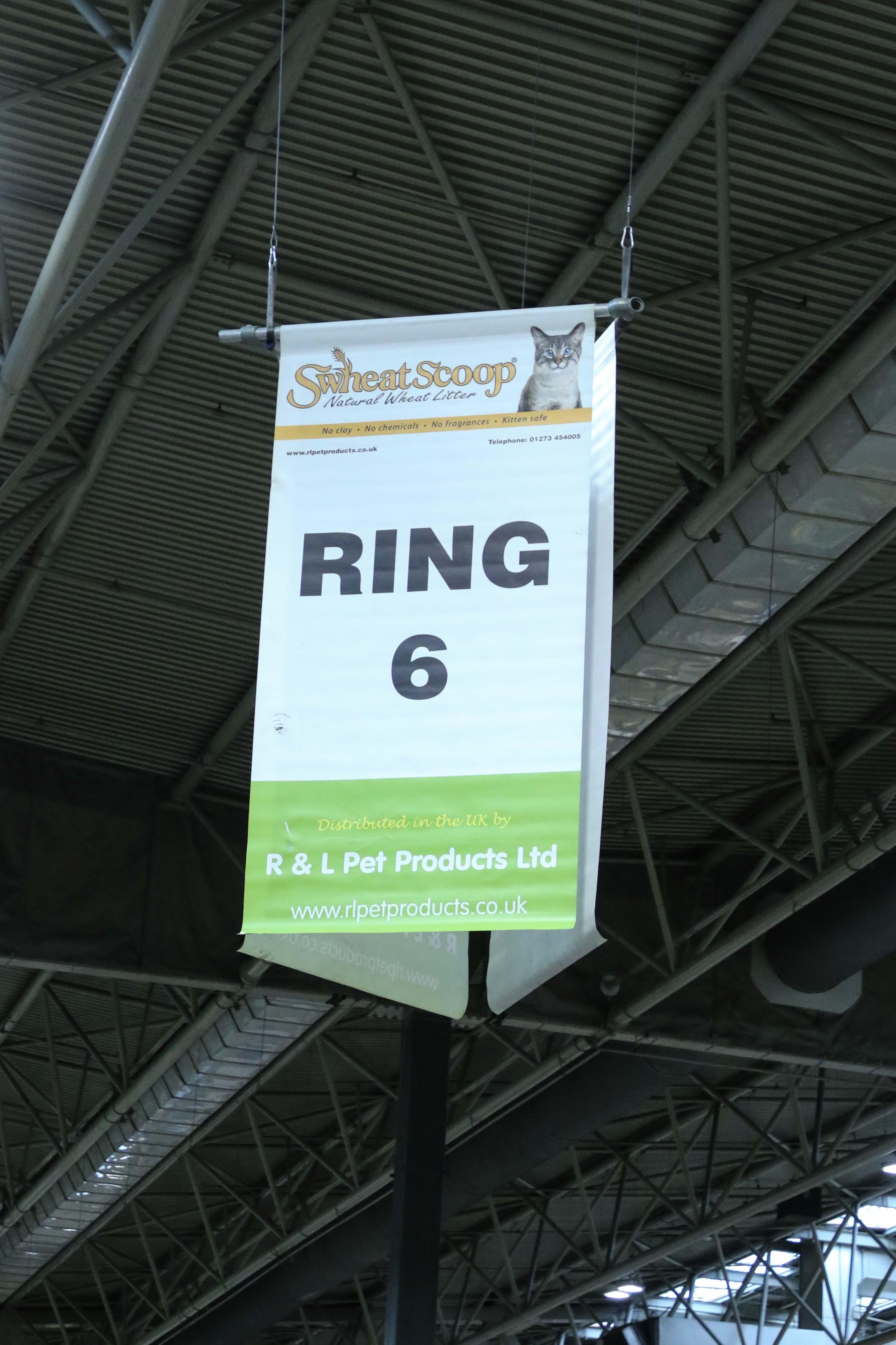 Judging ring
