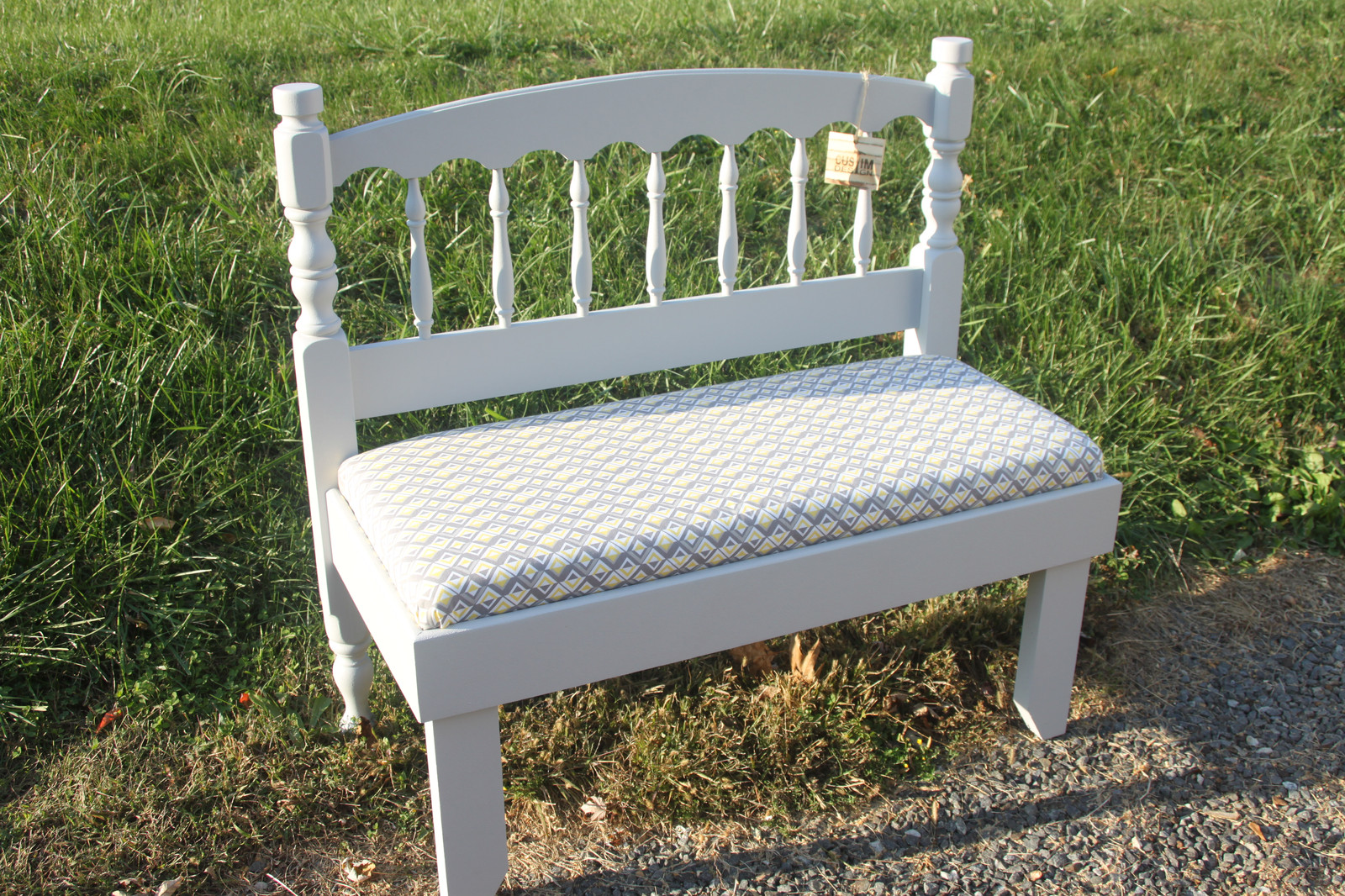 Stupendous Headboard Bench Short Links Chair Design For Home Short Linksinfo
