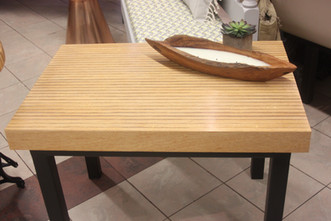 Plywood Edge End Table