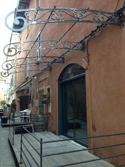 Un resto dans la citadelle de Bastia