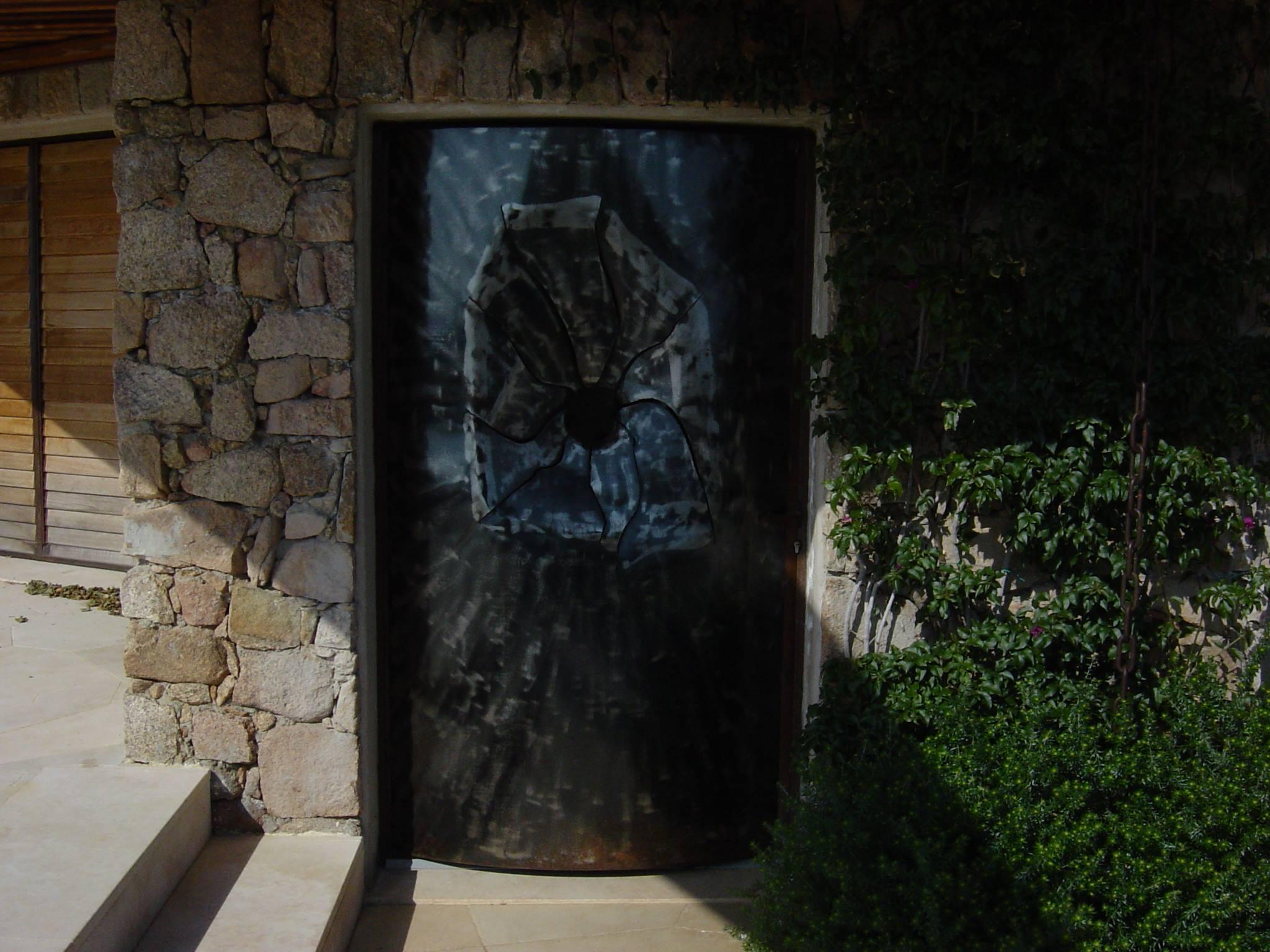 """Porte """"Éclat d'obus"""""""