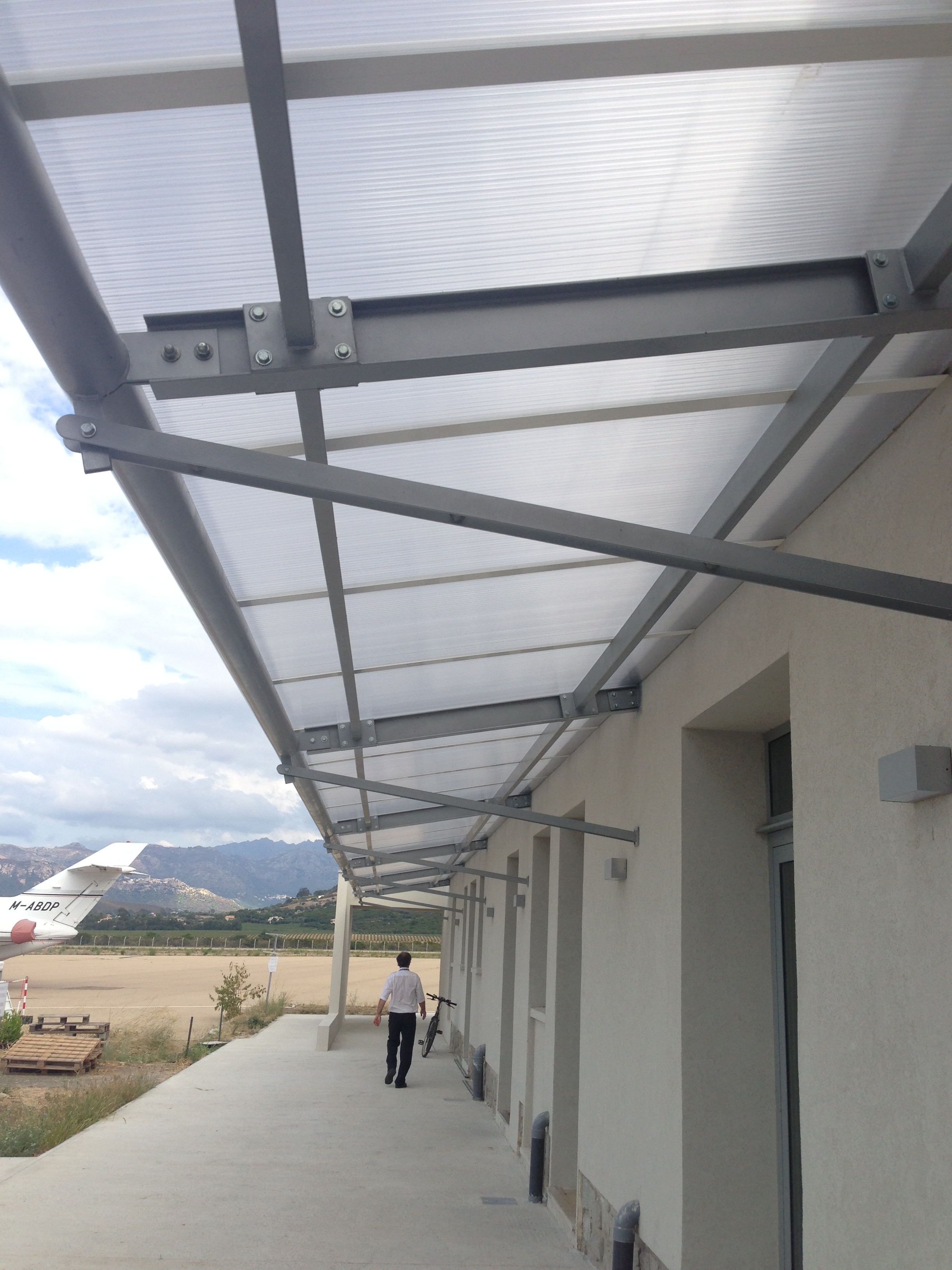 Terminal VIP aéroport Calvi