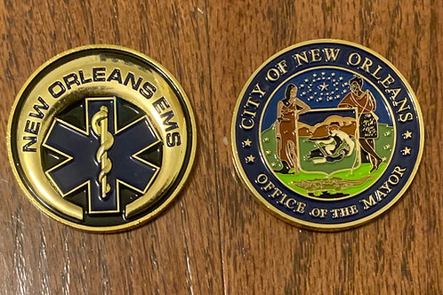 New Orleans EMS Challenge Coin