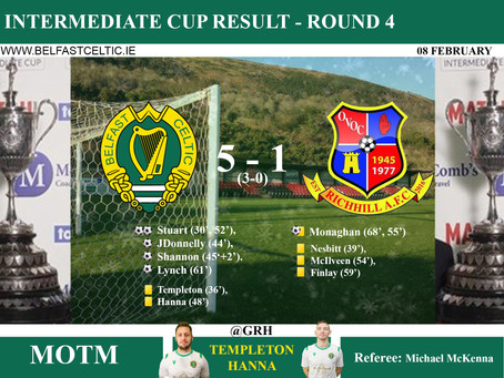 Match Results 8th February 2020