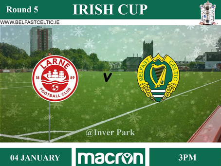 Irish Cup 5th Round!