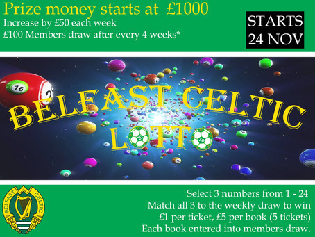 Belfast Celtic Lotto