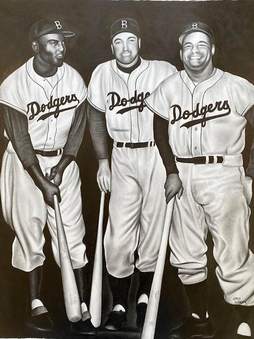 Jackie, Duke and Campy