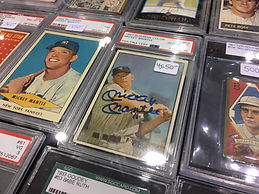 graded baseball cards