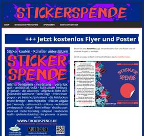 Stickerspende