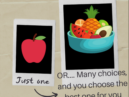 Who doesn't want more choices?